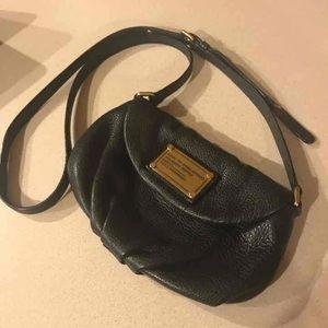 Marc Jacobs black leather crossbody
